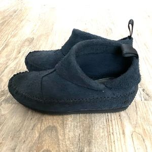 Rag & Bone Brixton Navy Moccasin Booties